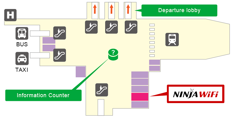 Chubu Centrair International Airport Pick-up/Return
