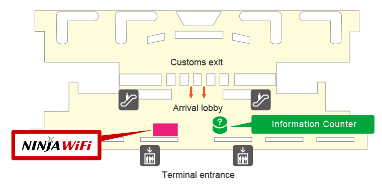 Fukuoka Airport Pick-up/Return