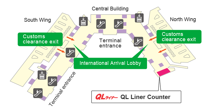 Narita International Airport Terminal 1 Pick-up